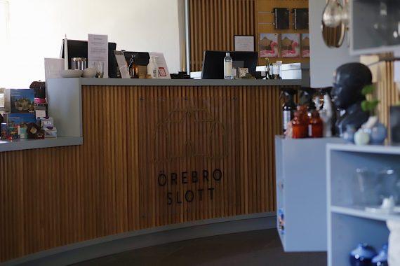 Slottsbutikens disk på Örebro slott.